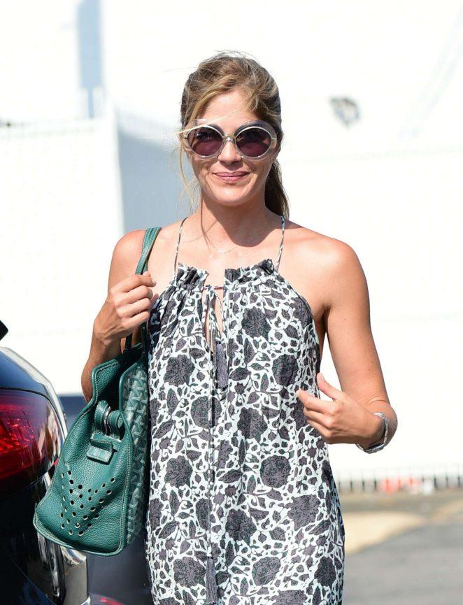 Selma Blair in Summer Dress - Out in Los Angeles