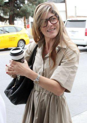Selma Blair - Leaving a salon in Studio City