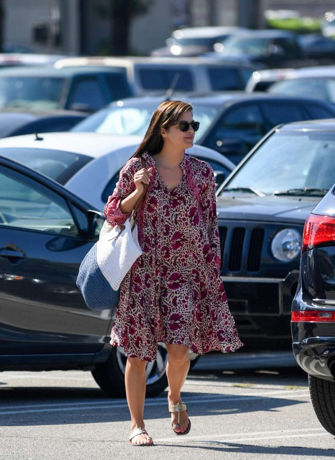 Selma Blair on a production set in LA