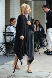 Selma Blair - Out for coffee at Alfred's Coffee in Studio City