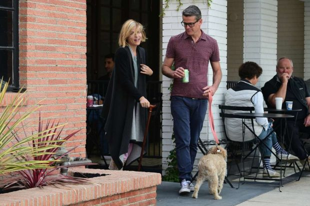 Selma Blair: Out for coffee at Alfreds Coffee -14