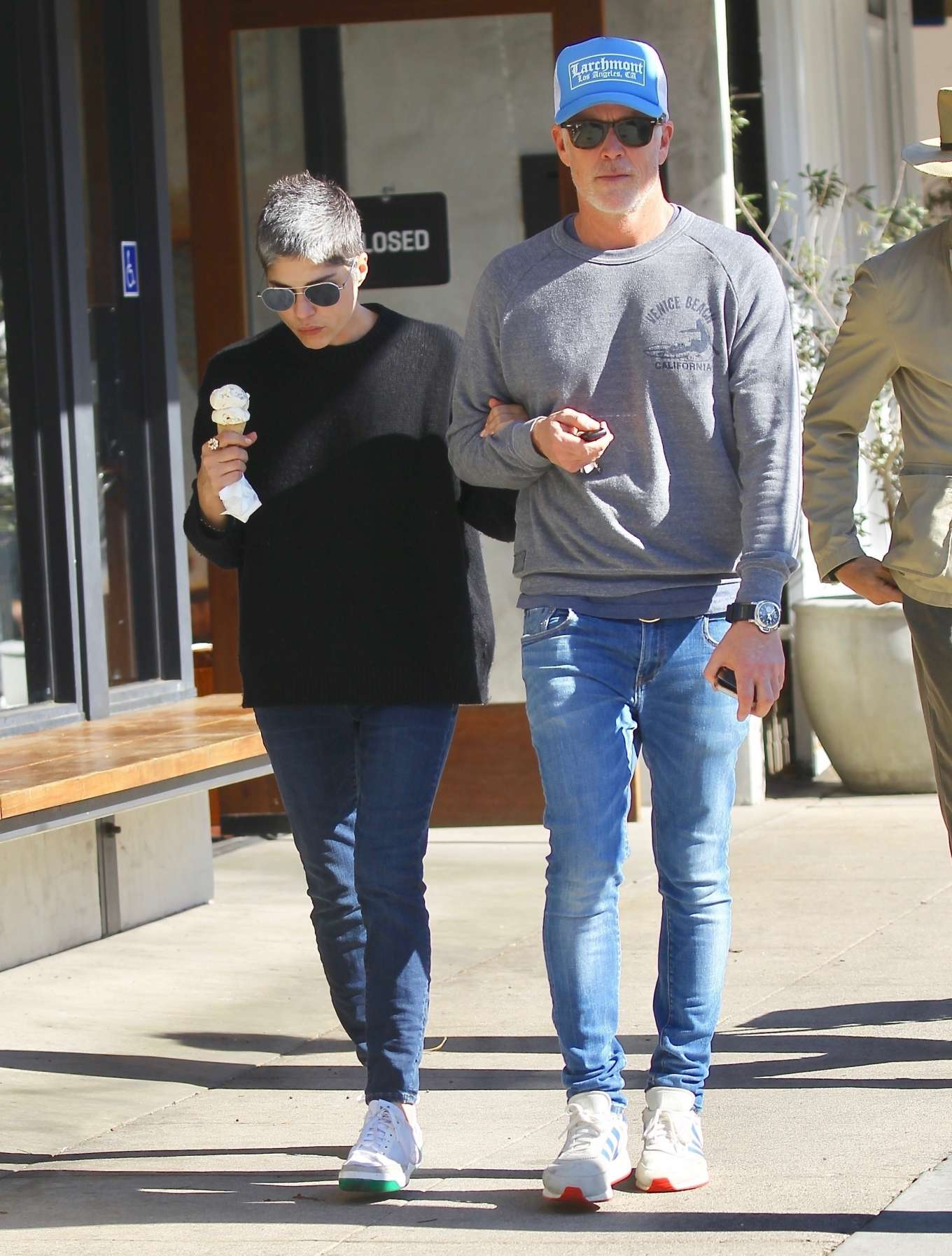 Selma Blair - Out for McConnell's Ice Cream in Studio City