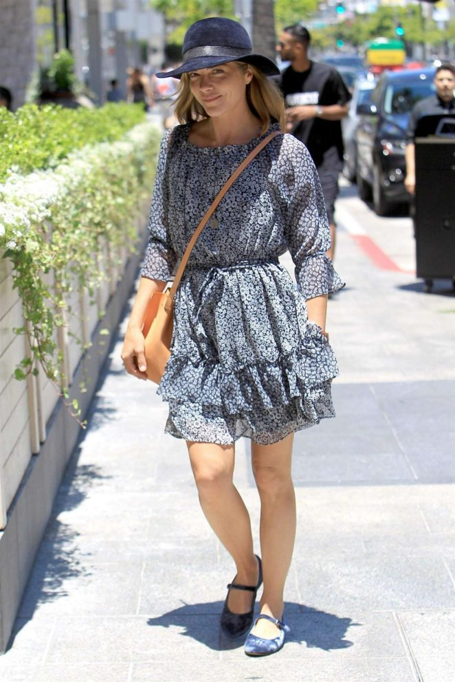 Selma Blair - Out in Beverly Hills