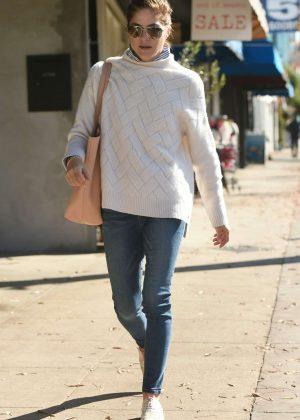 Selma Blair out in Los Angeles