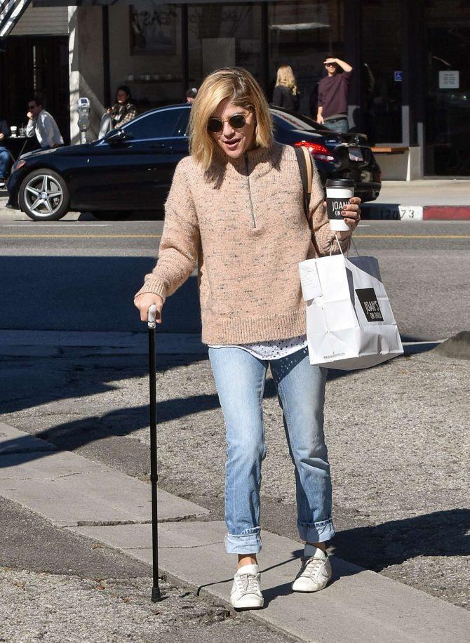 Selma Blair - Out in Los Angeles