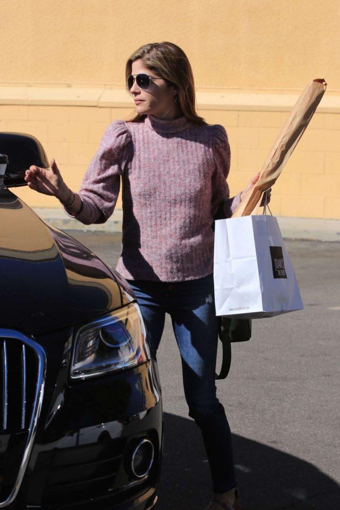 Selma Blair out in Studio City