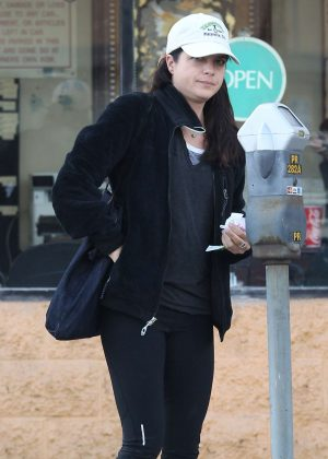 Selma Blair out shopping in Westwood