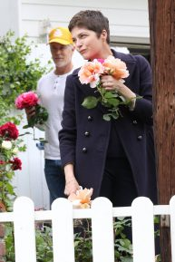 Selma Blair seen at her home