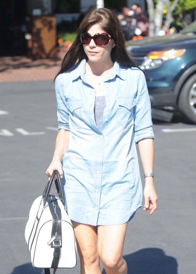 Selma Blair - Shopping at Fred Segal in West Hollywood