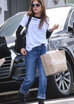 Selma Blair - Shopping in Beverly Hills