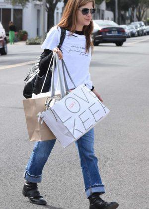 Selma Blair - Shopping in Beverly Hills