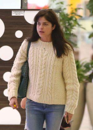 Selma Blair - Shopping in LA
