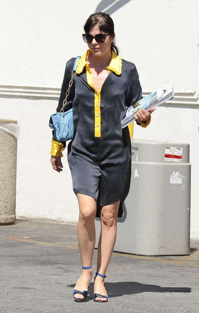 Selma Blair - Shopping in West Hollywood