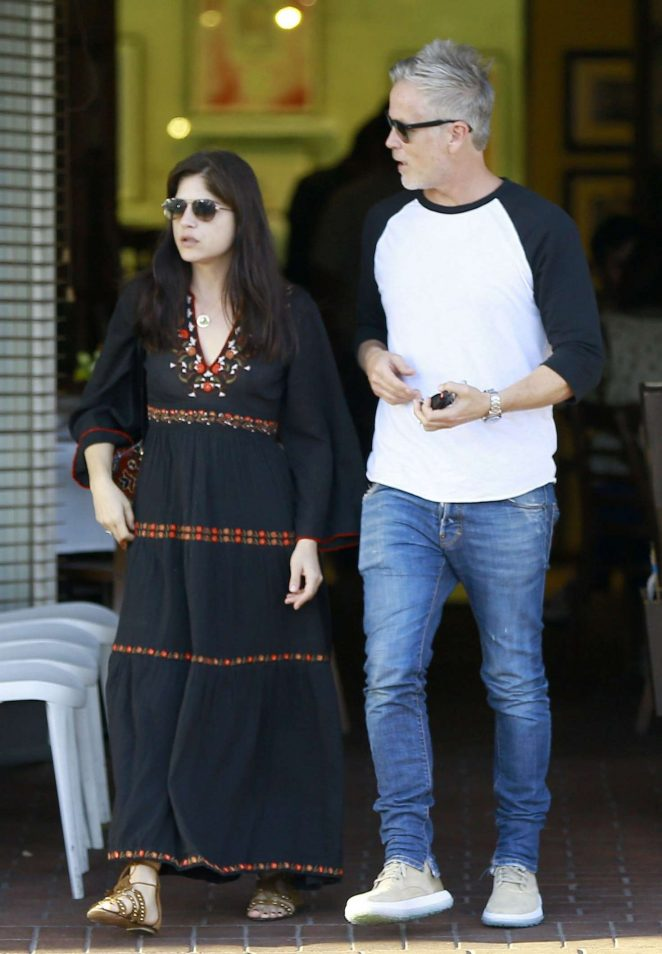 Selma Blair Shopping With Her Boyfriend in Beverly Hills