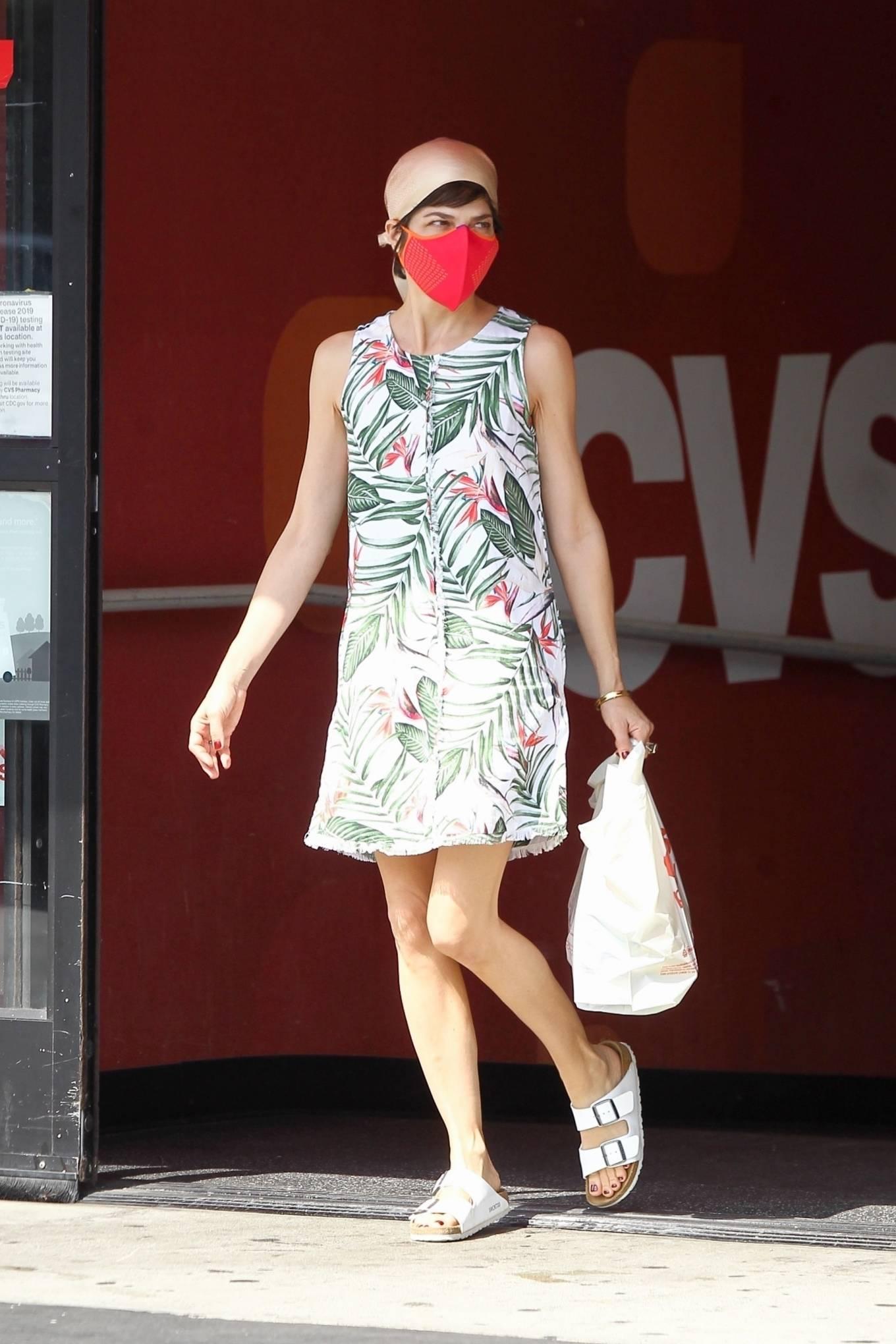 Selma Blair 2020 : Selma Blair – Spotted leaving a CVS pharmacy in Studio City-04