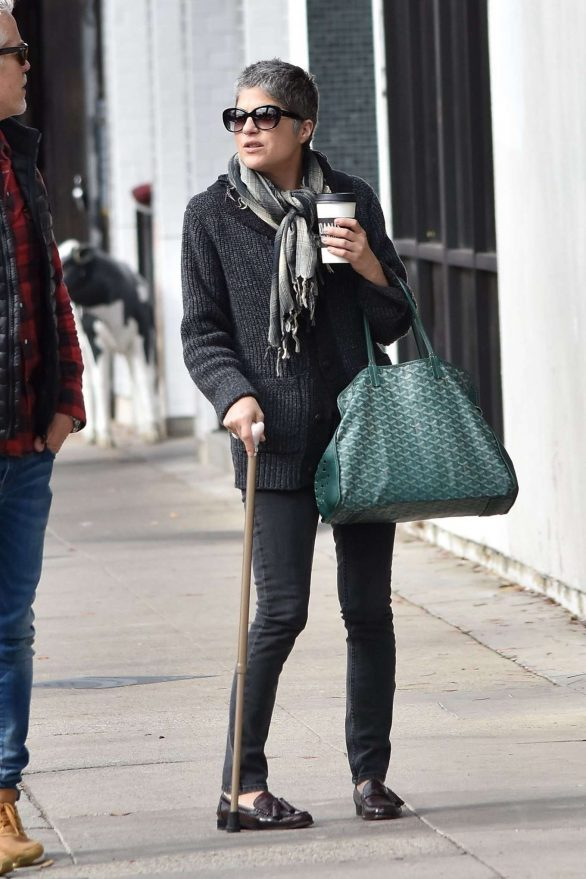 Selma Blair - Spotted while Heads to lunch at Joan's on Third in Studio City