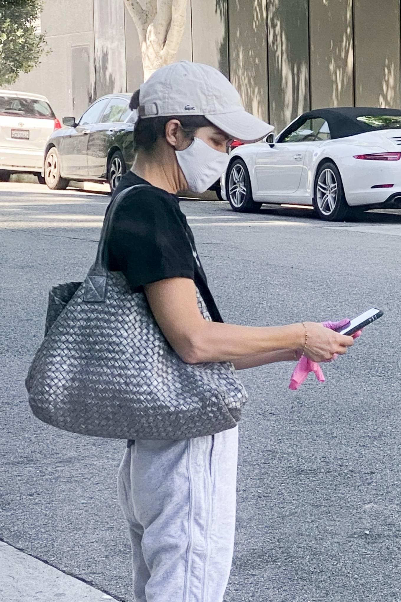 Selma Blair 2020 : Selma Blair – Wears leg braces as she leaves a medical building in Los Angeles-06