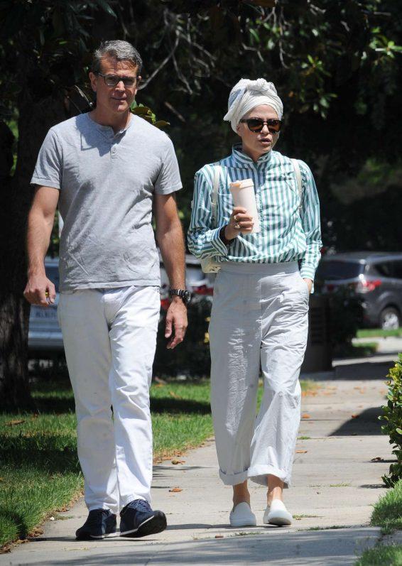 Selma Blair with boyfriend David Price out in Studio City