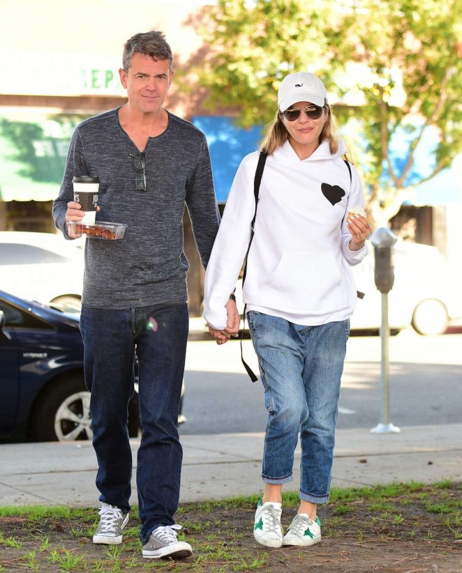 Selma Blair with boyfriend out in Los Angeles