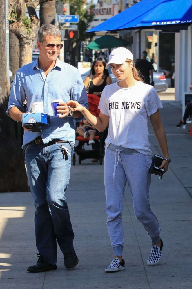 Selma Blair with boyfriend out in Studio City