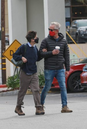 Selma Blair - With her boyfriend Ron Carlson shopping at Bristol Farms in Beverly Hills