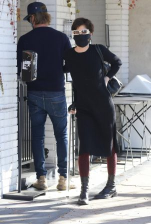 Selma Blair - With Ron Carlson in Los Angeles