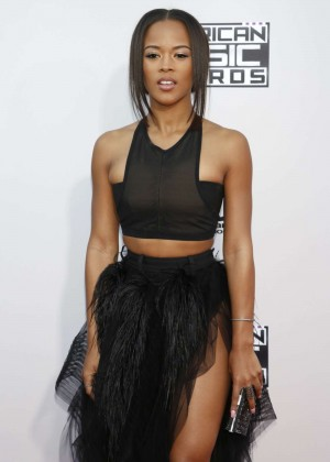 Serayah Mcneill - 2015 American Music Awards in Los Angeles