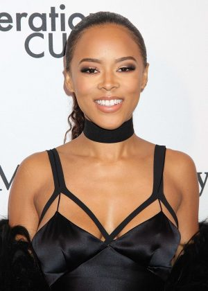 Serayah McNeill - 2016 amfAR GenerationCure Holiday Party in NY