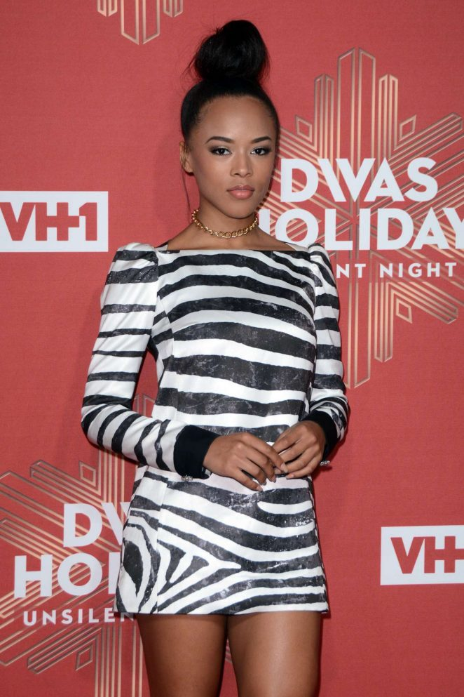 Serayah McNeill - 2016 VH1's Divas Holiday: Unsilent Night in NY