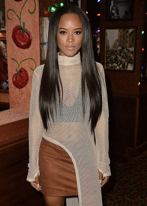 Serayah McNeill - Celebrates her 21st birthday in LA