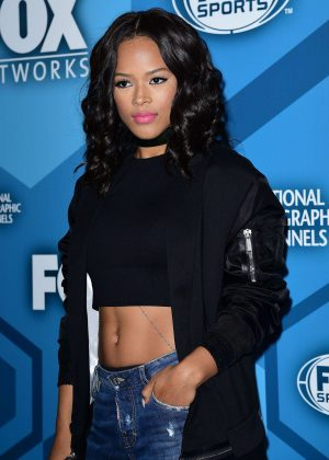 Serayah McNeill - Fox Network 2016 Upfront Presentation in New York