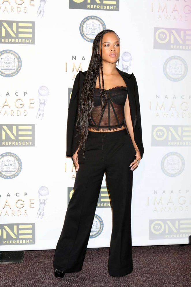 Serayah - Non-Televised 48th NAACP Image Awards in Pasadena