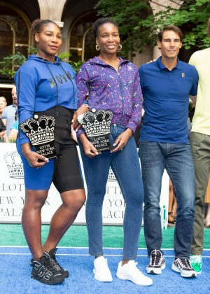 Serena and Venus Williams - 2018 Lotte New York Palace Invitational