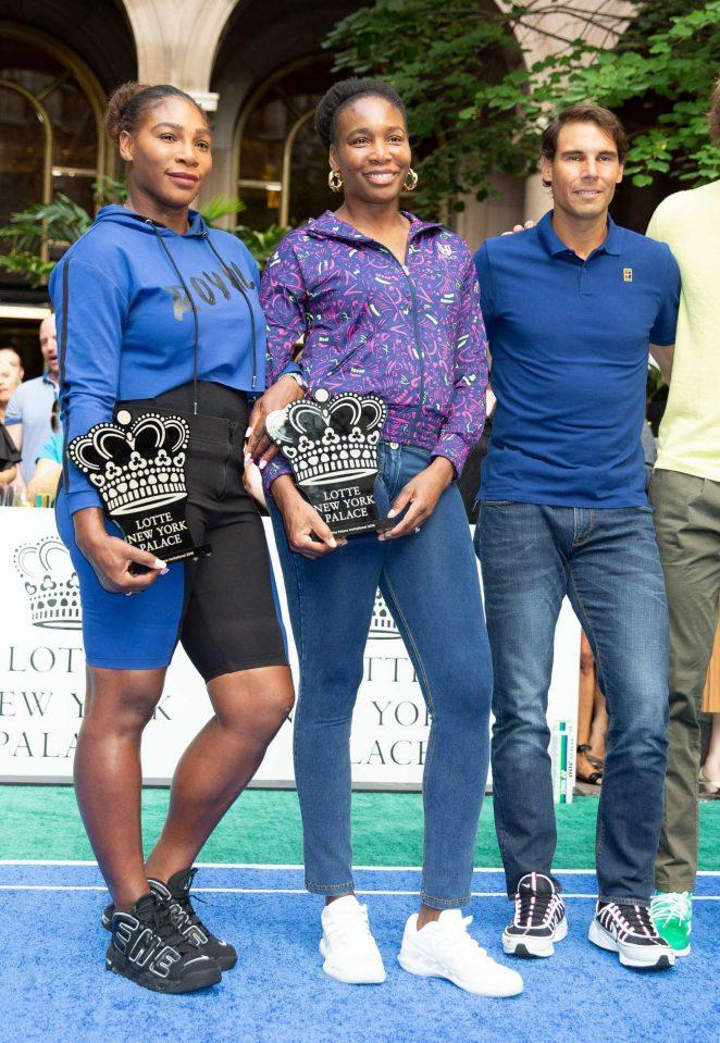 Serena and Venus Williams - 2018 Lotte New York Palace Invitational