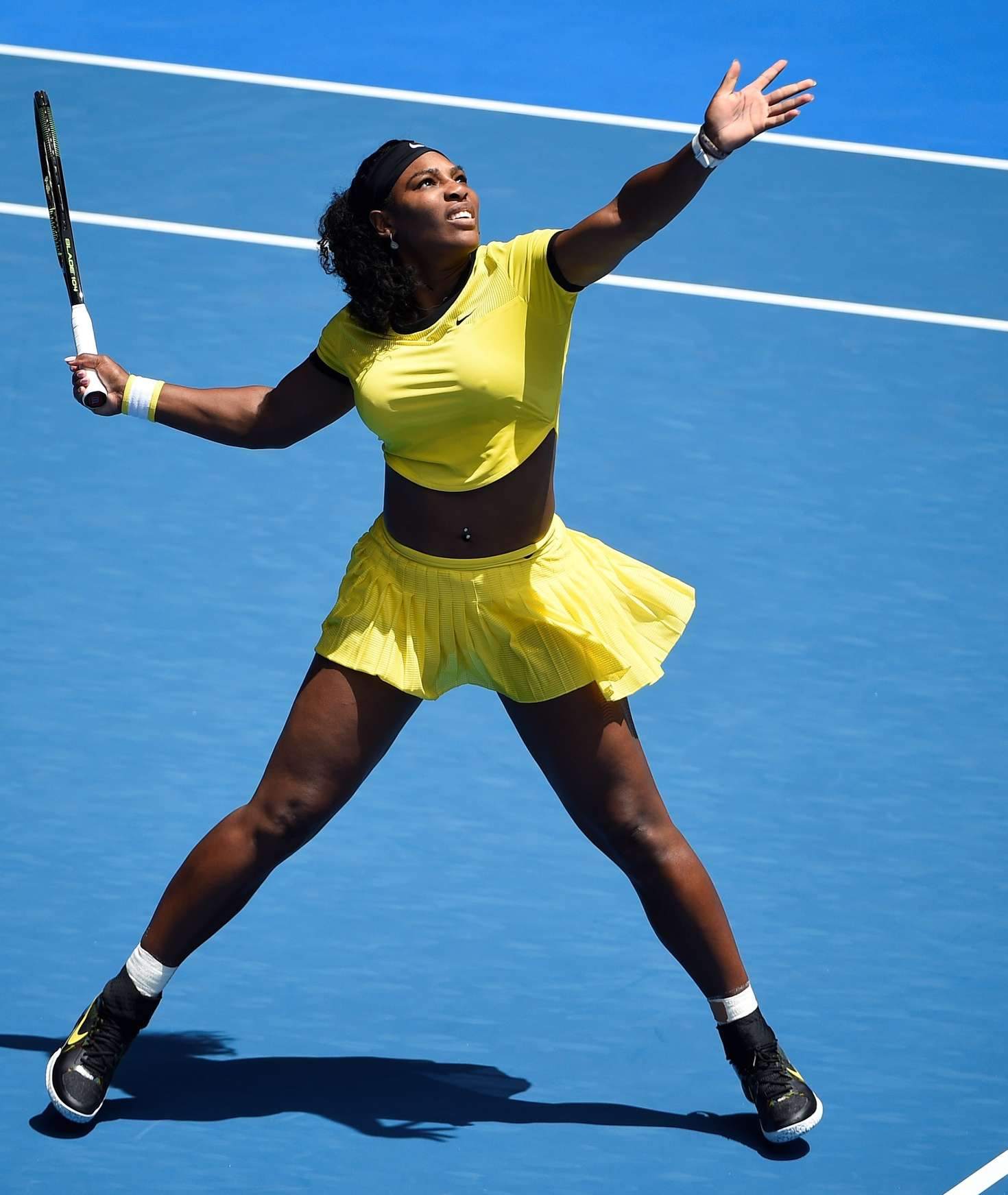 Who is serena williams dating in Melbourne