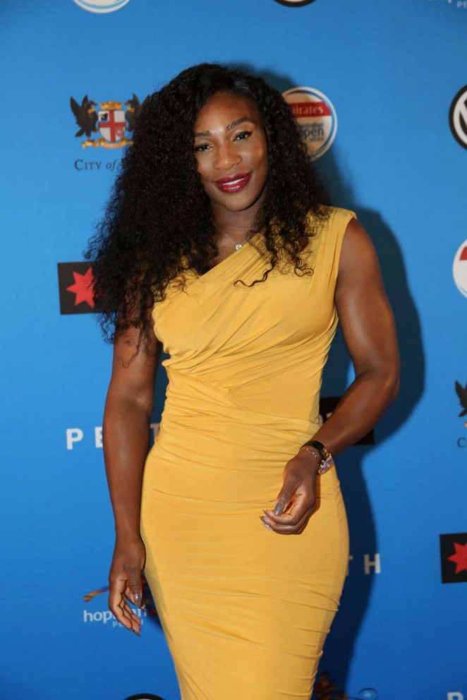 Serena Williams – 2016 Hopman Cup Player Party in Perth