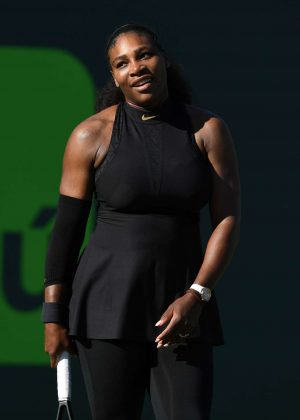 Serena Williams - 2018 Miami Open in Key Biscayne
