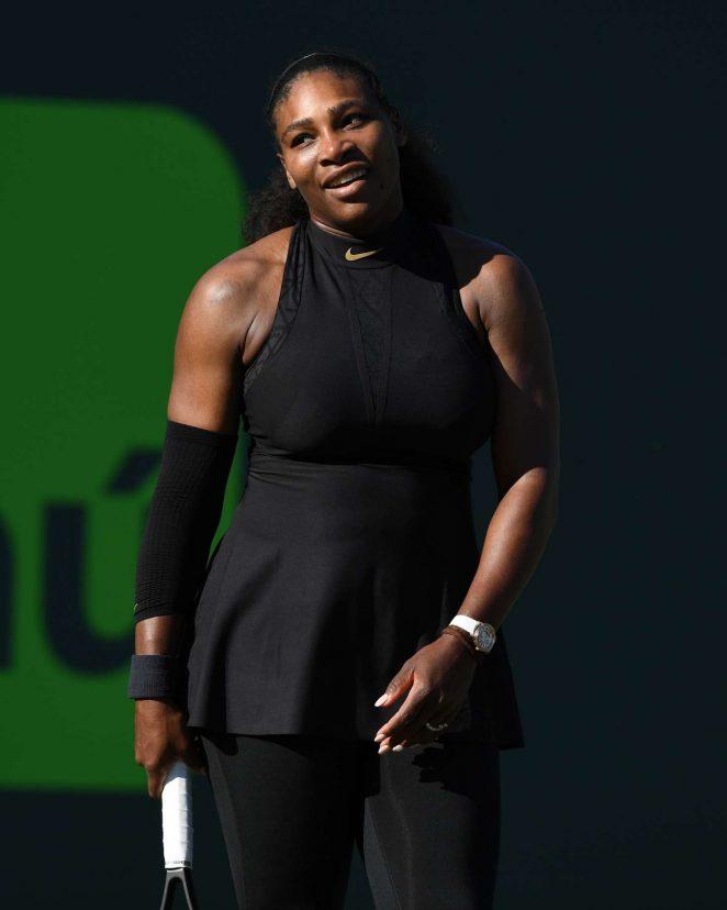 Serena Williams - 2018 Miami Open in Key Biscayne