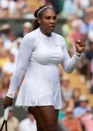 Serena Williams - 2018 Wimbledon Tennis Championships in London Day 3