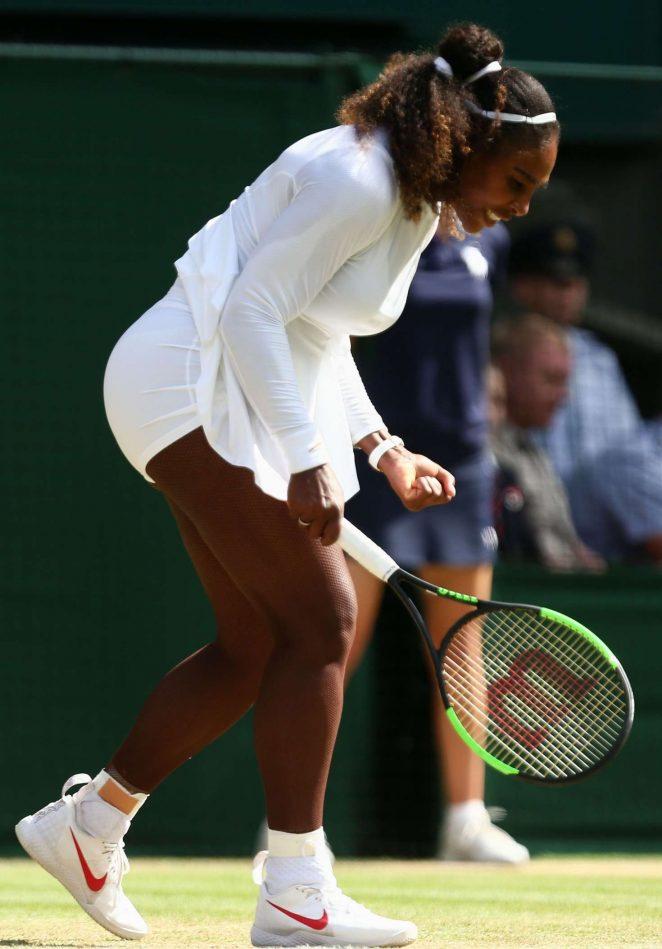 Serena Williams - 2018 Wimbledon Tennis Championships in London Day 8