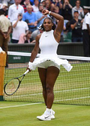 Serena Williams - 4th Round Match 2016 in Wimbledon