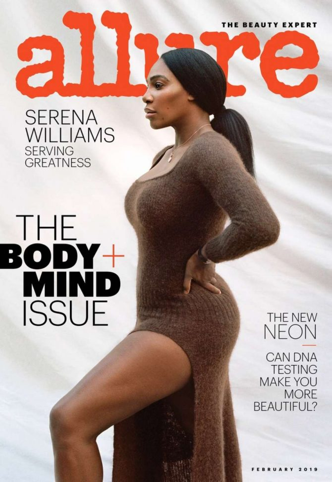 Serena Williams – Allure Magazine (January 2019)