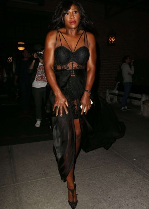 Serena Williams at Bowery Hotel in New York City