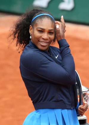 Serena Williams - French Open Final Match 2016 in Paris