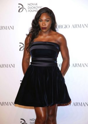 Serena Williams - Gala Dinner Novak Djokovic Foundation in Milan