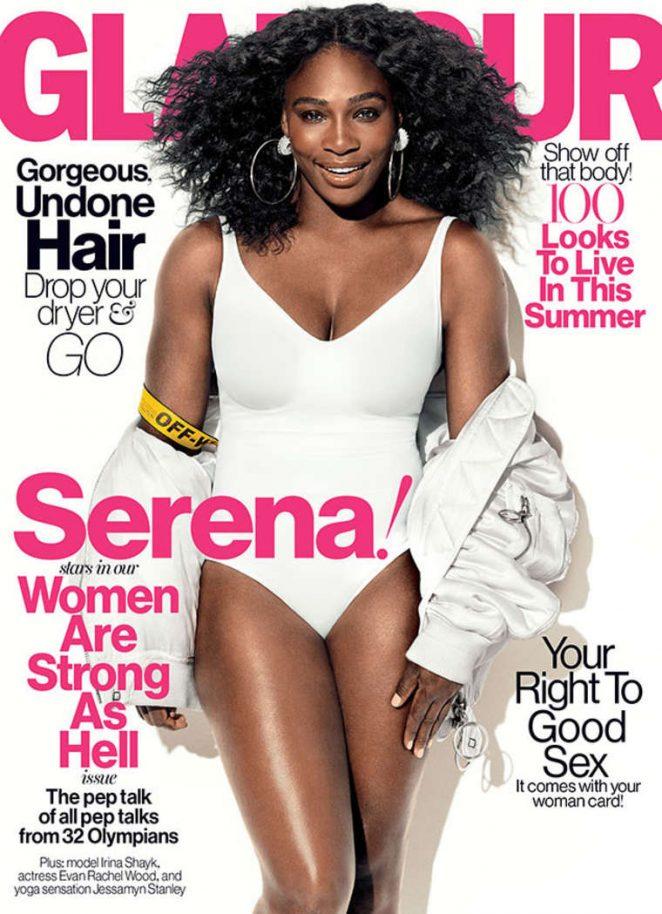 Serena Williams a-t-elle un gros cul? Serena-Williams---Glamour-US-2016--01-662x914