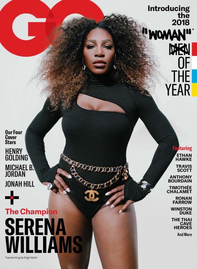 Serena Williams – GQ Cover Magazine 2018