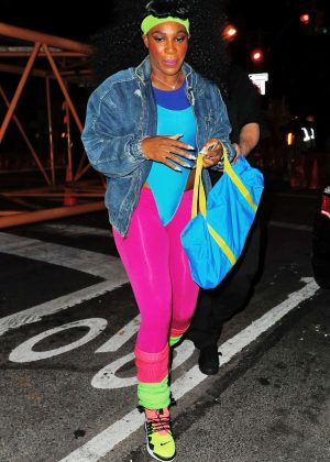 Serena Williams - Heidi Klum 17th Annual Halloween Party in NYC