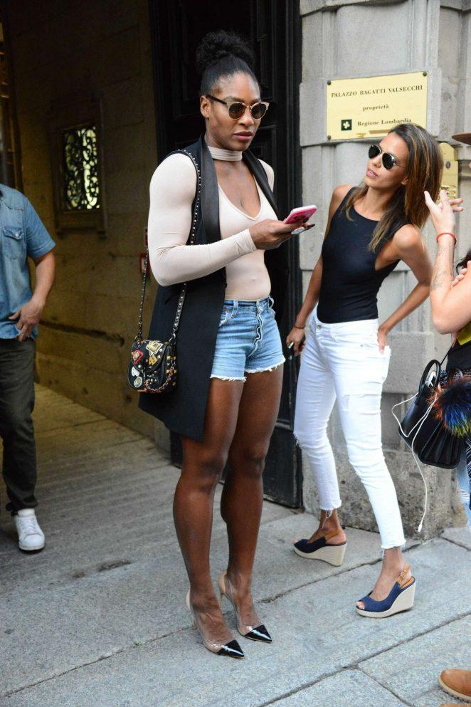 Serena Williams Milan Fashion Week