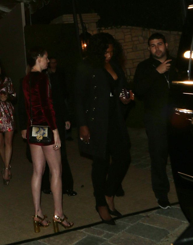 Serena Williams - Leaves Pre-Oscar Party 2016 in LA